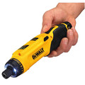 Dewalt DCF680N1 8V MAX Cordless Lithium-Ion Gyroscopic Screwdriver Kit image number 6