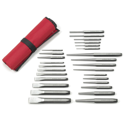 GearWrench 82306 27-Piece Punch and Chisel Set