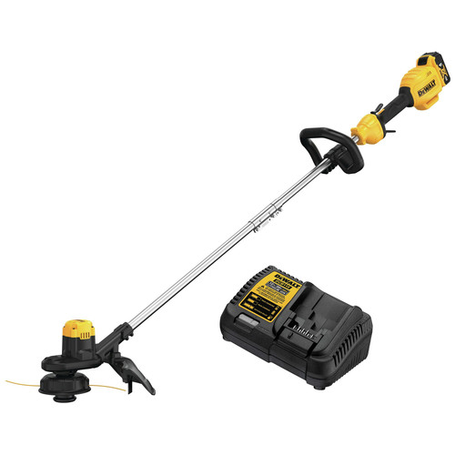 Dewalt DCST925M1 20V MAX 13 in. String Trimmer with Charger and 4.0 Ah Battery image number 0