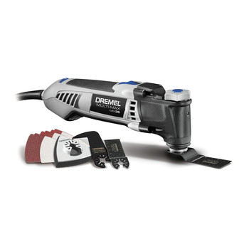 Factory Reconditioned Dremel MM35-DR-RT 120V 3.5 Amp Variable Speed Corded Oscillating Multi-Tool Kit