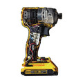 Dewalt DCF887D2 20V MAX XR 2.0 Ah Cordless Lithium-Ion 1/4 in. Brushless Impact Driver Kit image number 3