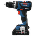 Factory Reconditioned Bosch GSB18V-535CB25-RT 18V EC Compact Tough Brushless Lithium-Ion 1/2 in. Cordless Connected-Ready Hammer Drill Kit (4 Ah) image number 2