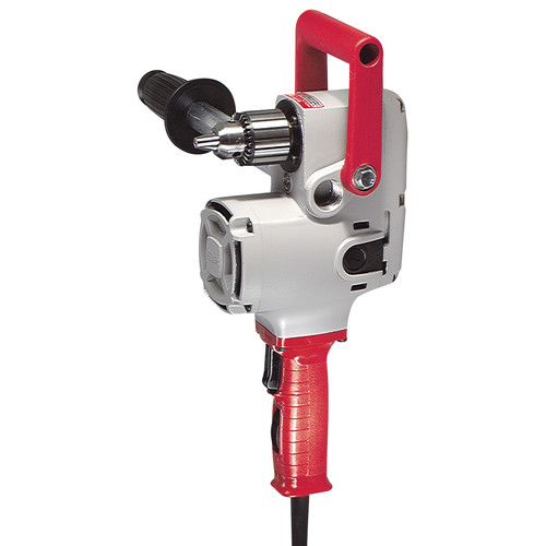 Factory Reconditioned Milwaukee 1676-8 1/2 in. Hole-Hawg Two-Speed Drill, 300/1,200 RPM with Case