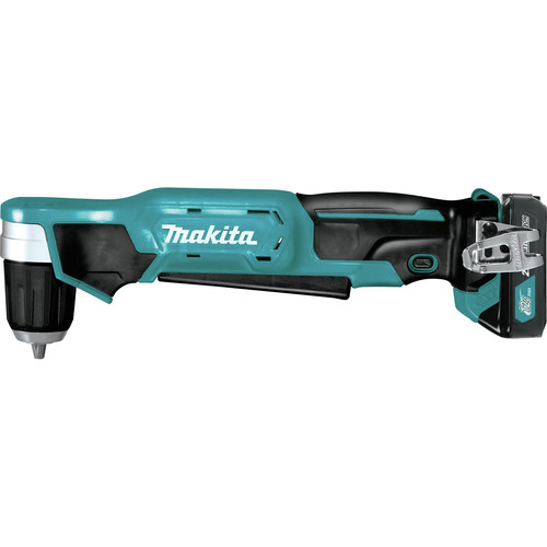 Makita AD04R1 12V max CXT Lithium-Ion 3/8 in. Cordless Right Angle Drill Kit (2 Ah) image number 2