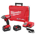 Milwaukee 2754-22 M18 FUEL 5.0 Ah Cordless Lithium-Ion 3/8 in. Compact Impact Wrench with Friction Ring Kit image number 0