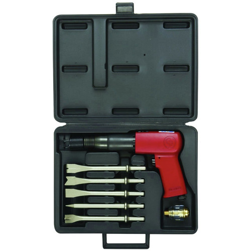 Chicago Pneumatic 7150K 3-1/2 in. Heavy-Duty Pistol Grip Air Hammer with Chisels image number 0