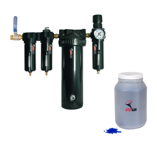 ATD 7763D 5-Stage Desiccant Air Drying System w/FREE 1 Gallon of Replacement Desiccant