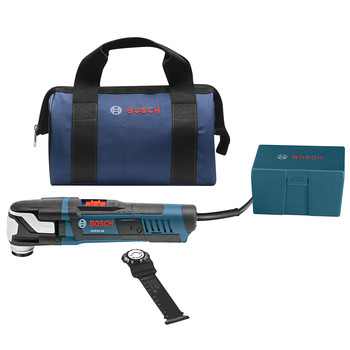 Bosch GOP55-36B 5.5 Amp StarlockMax Oscillating Multi-Tool Kit with Accessory Box