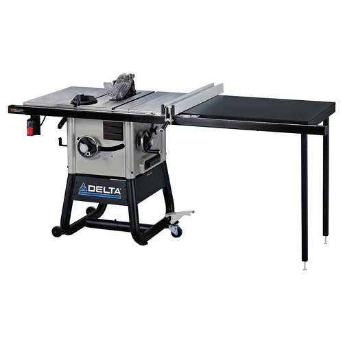 Delta 36-5152 15 Amp 10 in. Contractor Table Saw with 52 in. RH Rip & Cast Iron Wings