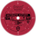 Freud LU85R012 12 in. 96 Tooth Ultimate Cut-Off Saw Blade