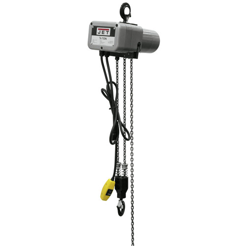 JET JSH-550-10 1/4 Ton Capacity 10 ft. Lift Electric Hoist
