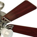 Hunter 53079 42 in. Beacon Hill Brushed Nickel Ceiling Fan with Light image number 3