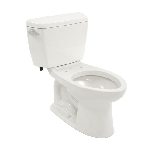 TOTO CST744S-01 Drake Elongated Two Piece Close Coupled Toilet (Cotton White)