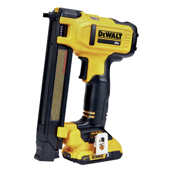 Factory Reconditioned Dewalt DCN701D1R 20V MAX Lithium-Ion Cordless Cable Stapler Kit (2 Ah)