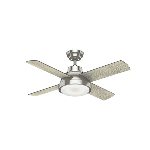 Casablanca 59436 44 in. Levitt Brushed Nickel Ceiling Fan with LED Light Kit and Wall Control