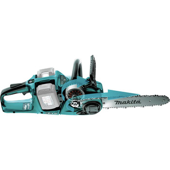 Makita XCU03Z X2 (36V) LXT Lithium-Ion Brushless Cordless 14 in. Chainsaw (Tool Only)