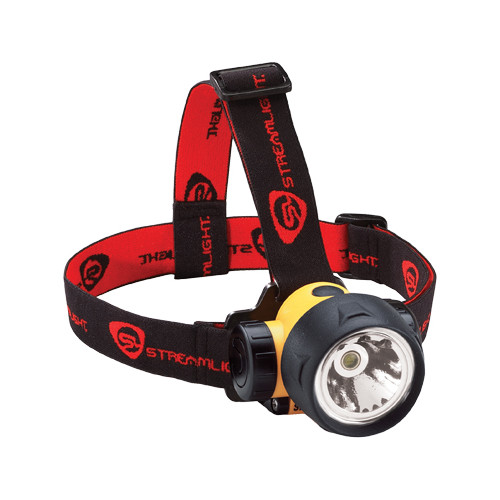 Streamlight 61050 Trident Headlamp with 3 White LEDs (Yellow) image number 0