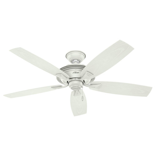 Hunter 53346 52 in. Outdoor Ceiling Fan (Fresh White)