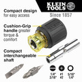 Klein Tools 32561 6-in-1 Multi-Bit Screwdriver/Nut Driver  image number 1