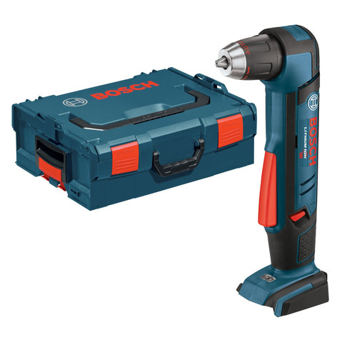 Bosch ADS181BL 18V Cordless Lithium-Ion 1/2 in. Right Angle Drill Driver (Bare Tool) with L-BOXX-2 and Exact-Fit Insert