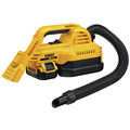 Dewalt DCV517M1 20V MAX 1/2 Gallon Wet/Dry Portable Vac Kit image number 2