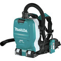 Makita XCV10PTX 18V X2 LXT (36V) Lithium-Ion Brushless 1/2 Gallon Cordless Backpack Dry Dust Extractor Kit with HEPA Filter, AWS Capable (5 Ah) image number 2