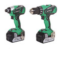 Hitachi KC18DBFL 18V Lithium-Ion Brushless 2- Piece Combo Kit