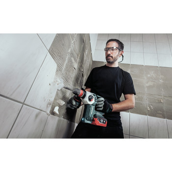 Metabo 600211890 KHA 18 LTX BL 24 Quick 18V 1 in. SDS-Plus Brushless Lithium-Ion Rotary Hammer (Tool Only) image number 1