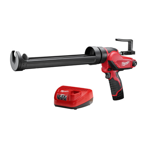 Milwaukee 2444-21 M12 12V Cordless Lithium-Ion Quart Caulk and Adhesive Gun Kit image number 0