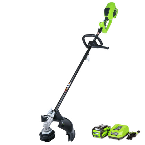 Greenworks 21362 DigiPro G-MAX 40V Cordless Lithium-Ion 14 in. String Trimmer image number 0