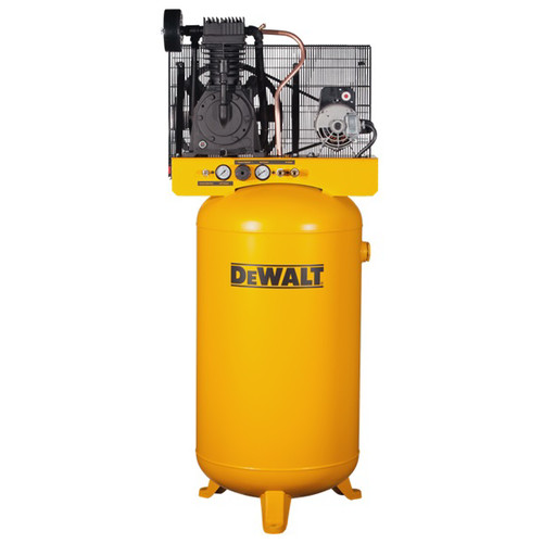 Dewalt DXCMV5048055.01 5 HP 80 Gallon TOPS Two Stage Oil-Lube Industrial Air Compressor