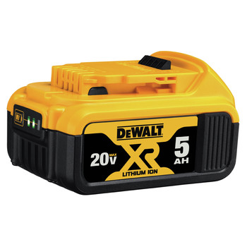 Dewalt DCB205 20V MAX XR Premium 5 Ah Lithium-Ion Battery image number 2