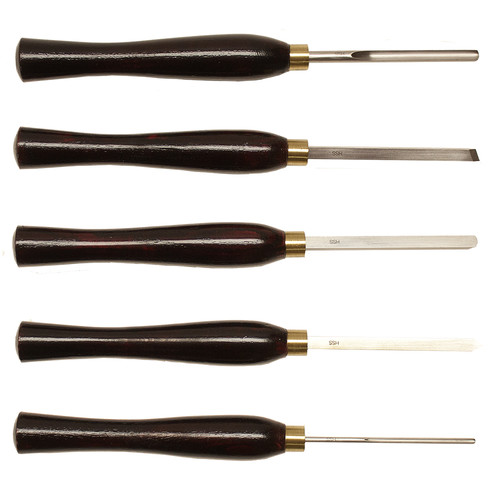 NOVA 9033 5 Piece HHS Mini Turning Chisel Set