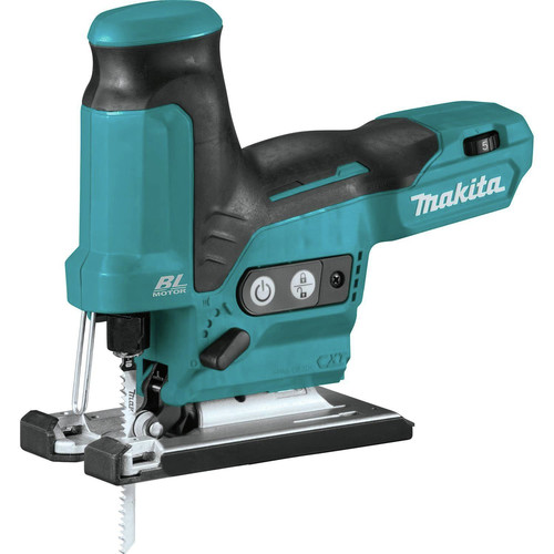 Makita VJ05Z 12V max CXT Lithium-Ion Brushless Barrel Grip Jig Saw, (Tool Only)