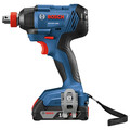 Factory Reconditioned Bosch GDX18V-1600B12-RT 18V 1/4 In. and 1/2 In. Two-In-One Socket-Ready Impact Driver Kit image number 2