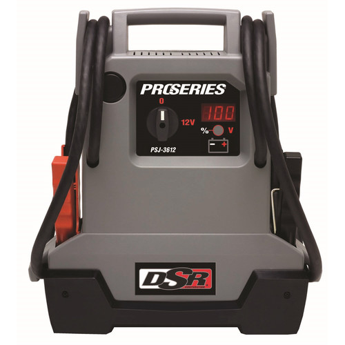 Schumacher PSJ-3612 ProSeries 12V DSR Jump Starter and Power Port
