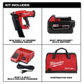Milwaukee 2744-21 M18 FUEL 21-Degree Cordless Framing Nailer Kit (5 Ah) image number 1