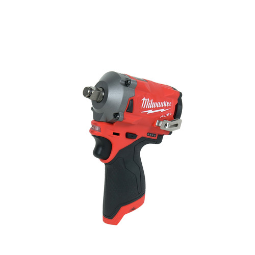 Milwaukee 2555-20 M12 FUEL Stubby 1/2 in. Impact Wrench with Friction Ring (Tool Only) image number 0