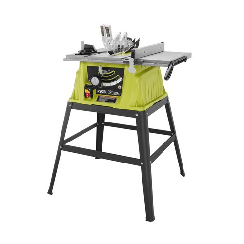 Superieur Factory Reconditioned Ryobi ZRRTS10G 15 Amp 10 In. Table Saw With Steel  Stand