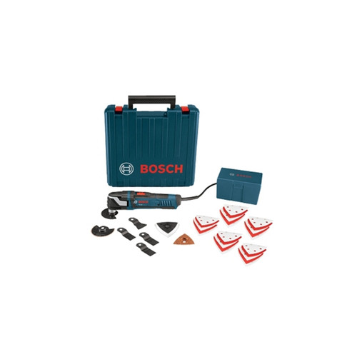Factory Reconditioned Bosch MX30EK-RT 3.0 Amp Multi-X Oscillating Tool with 33 Accessories