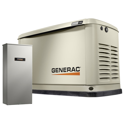 Generac 7032 11/10kW Air-Cooled 16 Circuit LC NEMA3 Standby Generator