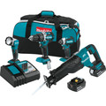 Makita XT447T 18V LXT Lithium-Ion Brushless Cordless 4-Pc. Combo Kit (5.0Ah)