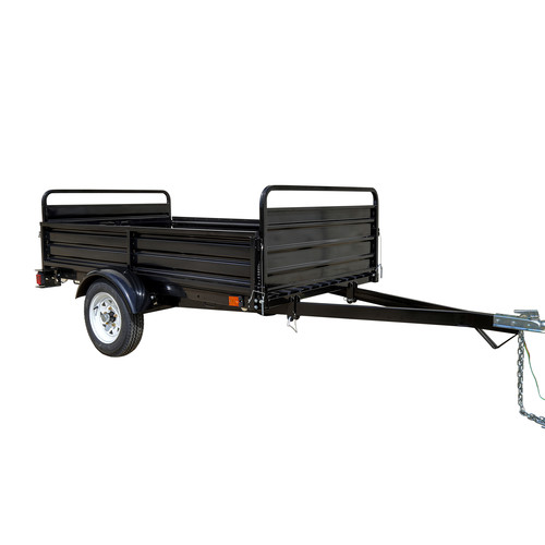 Detail K2 MMT5X7 5 ft. x 7 ft. Multi Purpose Utility Trailer (Black powder-coated) image number 0