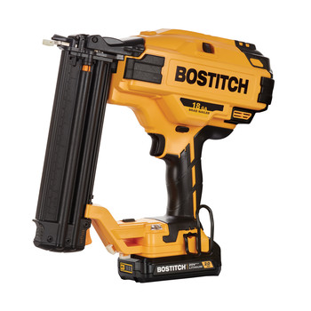 Factory Reconditioned Bostitch BCN680D1-R 20V MAX 2.0 Ah Lithium-Ion 18 Gauge Brad Nailer Kit