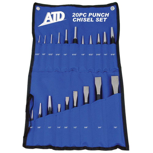ATD 720 20-Piece Punch And Chisel Set image number 0