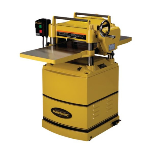 Powermatic 15HH 15 in. 1-Phase 3-Horsepower 230V Deluxe Planer with Byrd Shelix Cutterhead