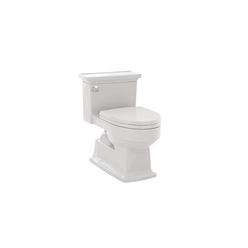 TOTO MS934214EF#01 Eco Lloyd Elongated 1-Piece Floor Mount Toilet (Cotton White)