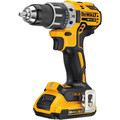 Dewalt DCD791D2 20V MAX XR Lithium-Ion Brushless Compact 1/2 in. Cordless Drill Driver Kit (2 Ah) image number 1