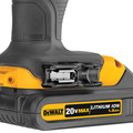 Dewalt DCD780C2 20V MAX Lithium-Ion Compact 1/2 in. Cordless Drill Driver Kit (1.5 Ah) image number 2