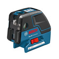 Bosch GCL25 Self-Leveling 5-Point Alignment Laser with Cross-Line